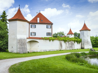 Castle Blutenburg Bavaria Germany