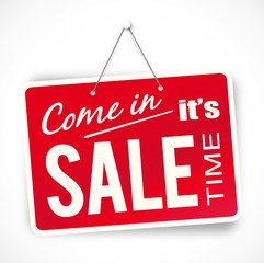 Come in it's sale time