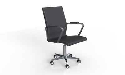 Office chair expensive elegant  isolated