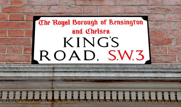 Kings Road, Famous London Street