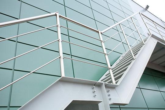 Metal staircase