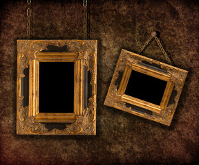 Two Hanging Frames