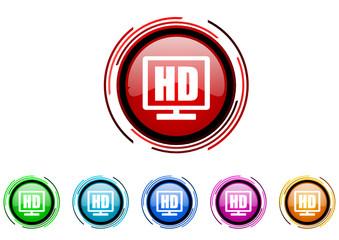 hd vector glossy web icon set