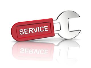 spanner for servicing