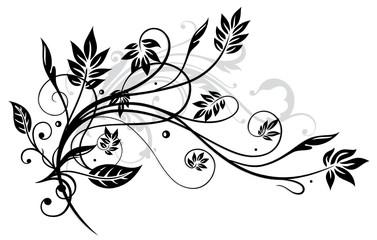 Herbst, filigran, Blätter, Ranke, Laub