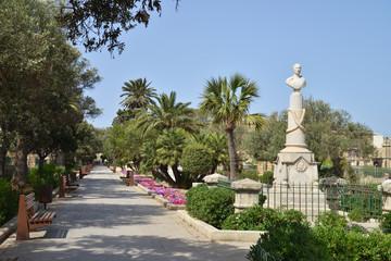 Jardin botanique à Malte