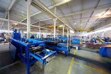 Manufacturing workshop at plant