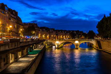 waterfront paris city France