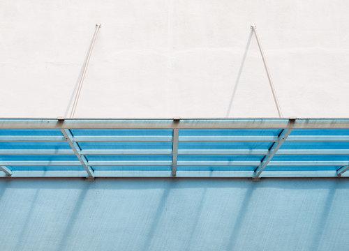 Modern plastic canopy