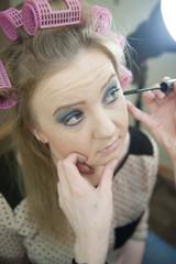 Beauty fashion studio portrait