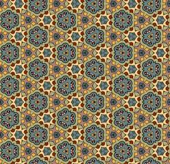 Ornate seamless vector pattern