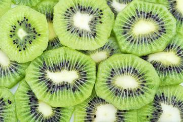 Pattern of Kiwi fruit.