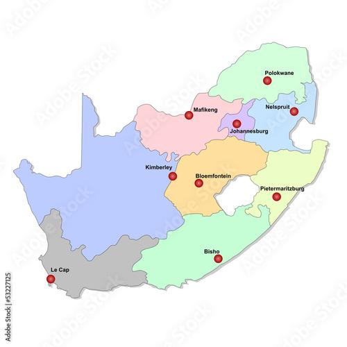 Carte Dafrique Du Sud.Carte D Afrique Du Sud Stock Photo And Royalty Free Images