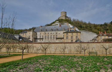 France, castle of La Roche Guyon