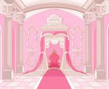 In dem Salon einer kleinen Prinzessin