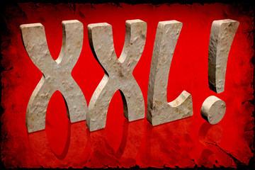 Retroplakat - XXL