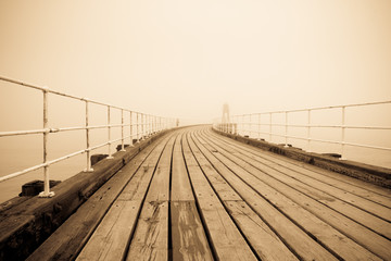 Vintage pier