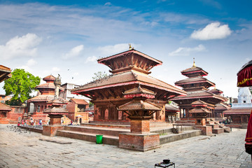 Photo sur Toile Népal Durbar square in Kathmandu valley, Nepal.
