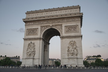 Champs-Elysses, Arc de Triomphe, Paris