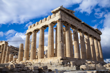The Parthenon, in Athens, Greece