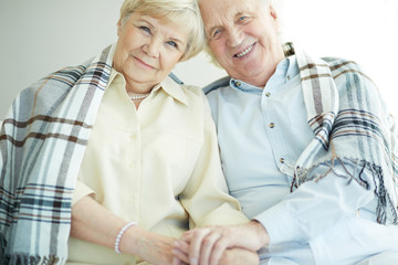 Seniors with tartan