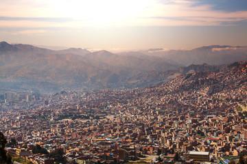 Papiers peints Amérique du Sud La Paz