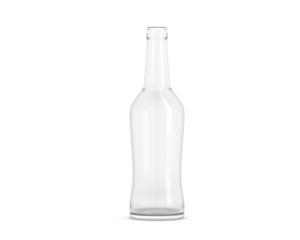 Flasche klein weiß
