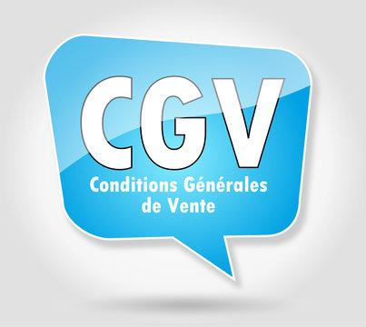 Bulle : CGV
