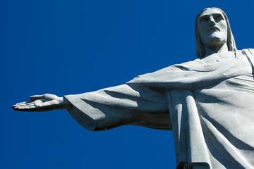 Christ the Redeemer statue in Rio de Janeiro in Brazil
