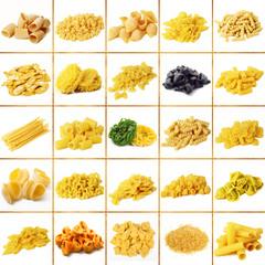 pasta italiana collage