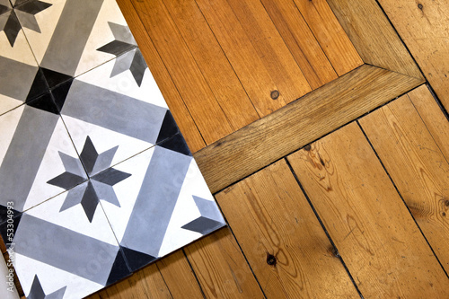 carreau carrelage plancher parquet bois d co maison photo libre de droits sur la banque. Black Bedroom Furniture Sets. Home Design Ideas