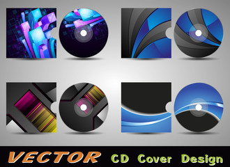 CD Cover Design EPS 10