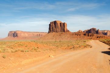 monument valley in Utah negli Stati Uniti d'America