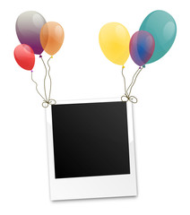 Polaroid Luftballon