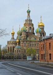 Church of the Savior on Spilled Blood in St.Petersburg, Russia