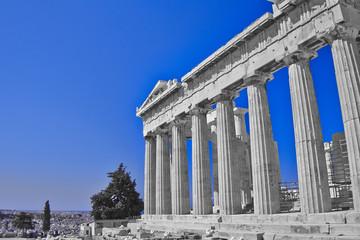 Parthenon ancient doric temple, Athens Greece