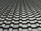 satellitensch ssel auf dem dach eines einfamilienhauses. Black Bedroom Furniture Sets. Home Design Ideas