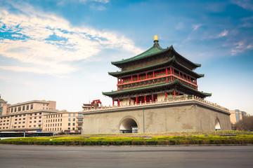 ancient city xian bell tower Fototapete