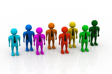 Social network people.