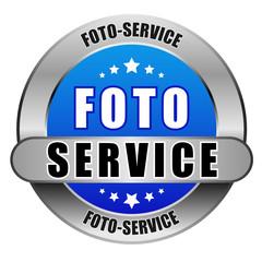 5 Star Button blau hell FOTO SERVICE DTO DTO