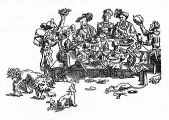 Medieval feast