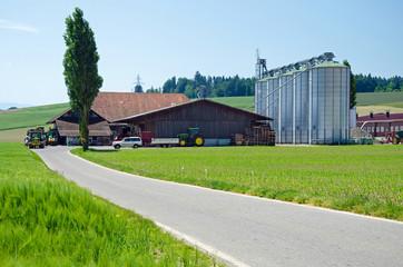 moderner Landwirtschaftsbetrieb