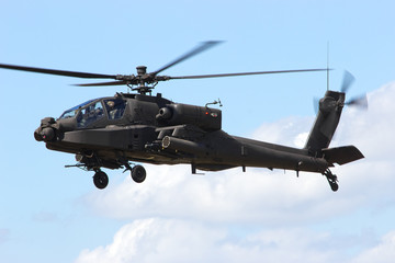Foto op Plexiglas Helicopter Apache helicopter