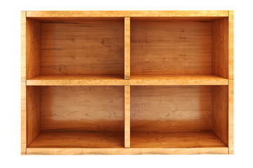 3d wooden shelf