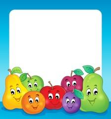 Fruit theme frame 1