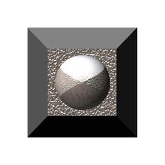 Alukugel auf 3D Hintergrund Metall,exclusiv,1