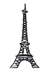 Tour Eiffel - illustration