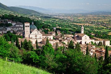 Wall Mural - assisi view