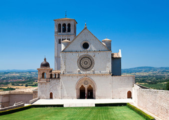 Fototapete - assisi cathedral