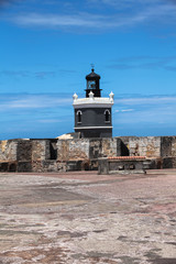 LIghthouse at  El Morro, San Juan